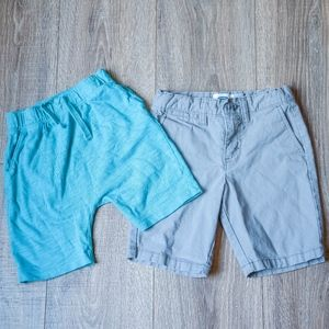 BUNDLE: drawstring u-shaped short & chino short